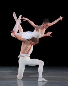 Balanchine's Apollo (photo by Marty Sohl)